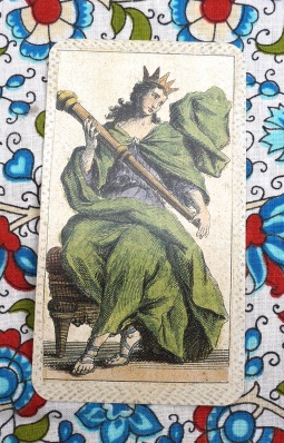 May's Card: Queen of Wands