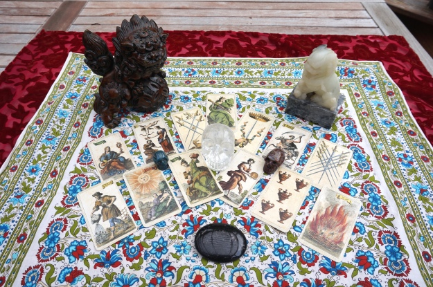 The Italian Minchiate Deck  - May 2013 Horoscopes.