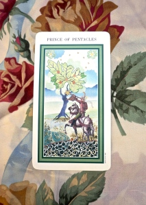 Libra: Prince of Pentacles