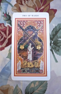 Pisces: 2 of Swords