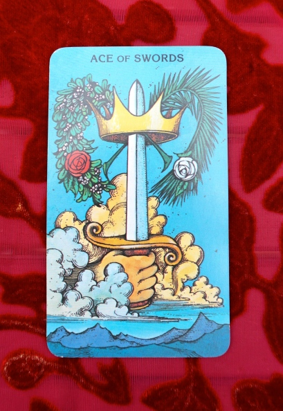 October's Message: Ace of Swords