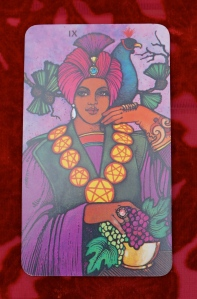 Capricorn: 9 of Pentacles