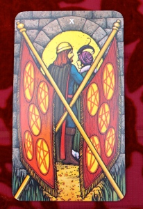 Aries: 10 of Pentacles