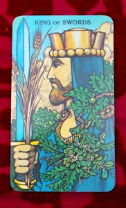 Virgo: King of Swords