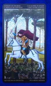 Leo: Knight of Swords