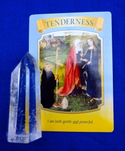 Tenderness means that the locks on your heart are ready to open to a new level this month.