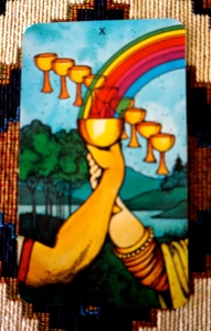 Beginning of January - 10 of Cups