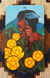 End of January - 7 of Pentacles